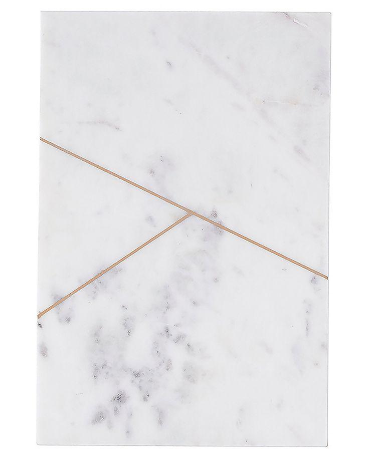 Plateau de marbre blanc N.1y - House Doctor - Visuel 1