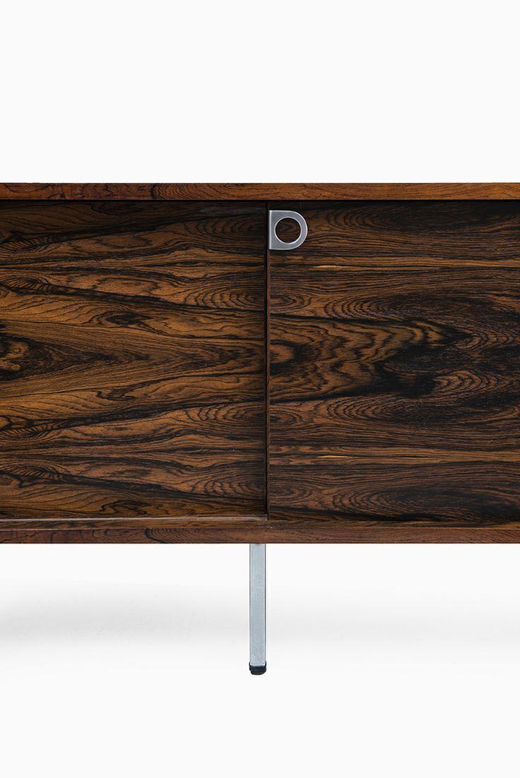 Bodil Kjær rosewood sideboard by E. Pedersen & Søn, more Bodil Kjær sideboard at Studio Schalling #sideboard #rosewood #midcentury