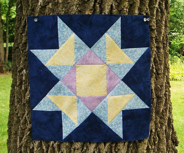 The Academic Quilter: Constellations--Blue
