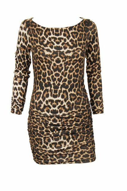 Soto Paris Tunic- Leopard