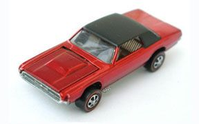 Vintage Hot Wheels Redline Custom T-Bird