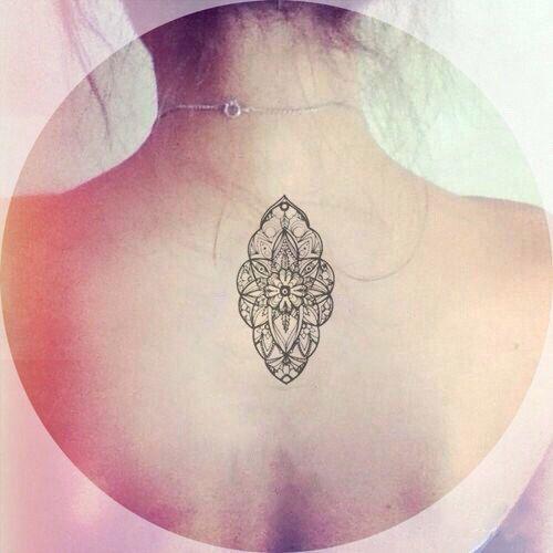 Mandala Boho Special Pattern Tattoo InknArt Temporary door InknArt