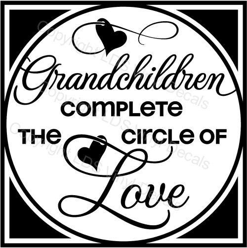 Grandchildren Circles And Poem Quotes On Pinterest