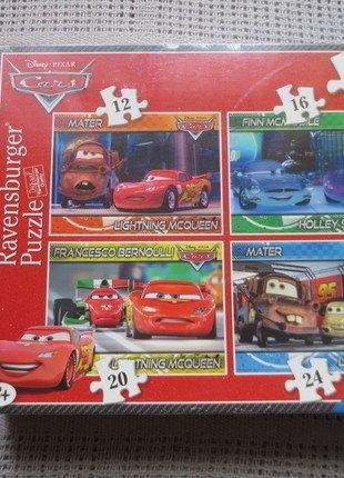 Kaufe meinen Artikel bei #Mamikreisel http://www.mamikreisel.de/spielzeug/puzzles-und-gesellschaftsspiele/37138468-disney-cars-puzzle-4-in-1-box-ab-3-jahre