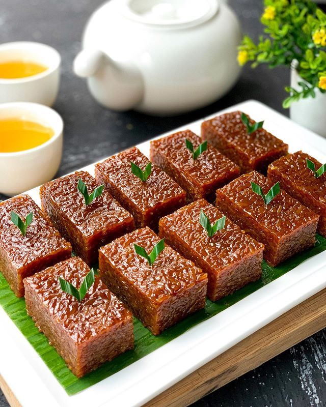 Resep Kue Wajik Dan Cara Membuat Kue Wajik Ketan Lengkap Dengan Tips Memasak Kue Wajik Gula Merah Yang Legit Dan Empuk Menggunakan Bahan Resep Kue Makanan Kue