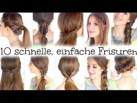 #Easy #Easy Hairstyles for work #fast #Hairstyles #École #université, #Easy #Fast #fasthair