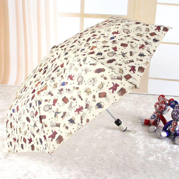 Little Bear Strong Windproof Parasol Automatic Folding Sun Rain Umbrellas Women Cartoon Children Clear Kids Umbrella Corporation. Yesterday's price: US $33.82 (27.68 EUR). Today's price: US $13.19 (10.88 EUR). Discount: 61%.