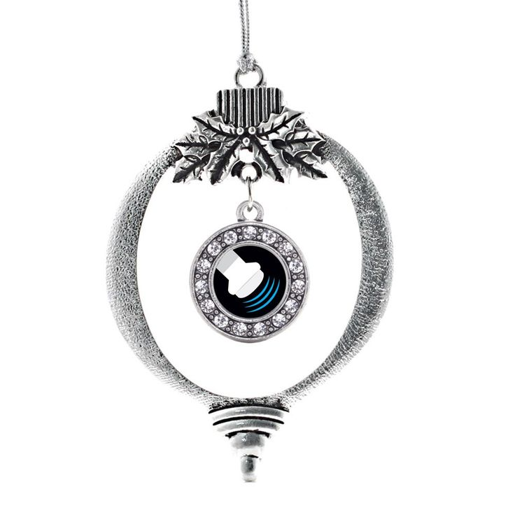 Sonographer Circle Holiday Ornament