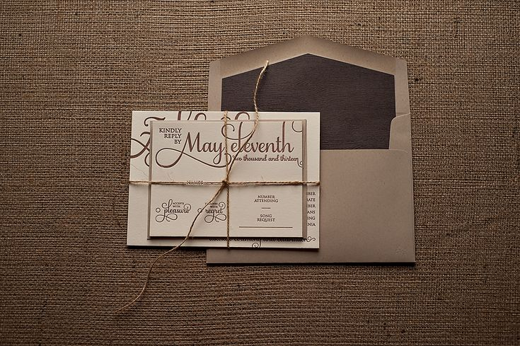 Cheap Rustic Wedding Invitations: 25+ Best Ideas About Brown Wedding Invitations On