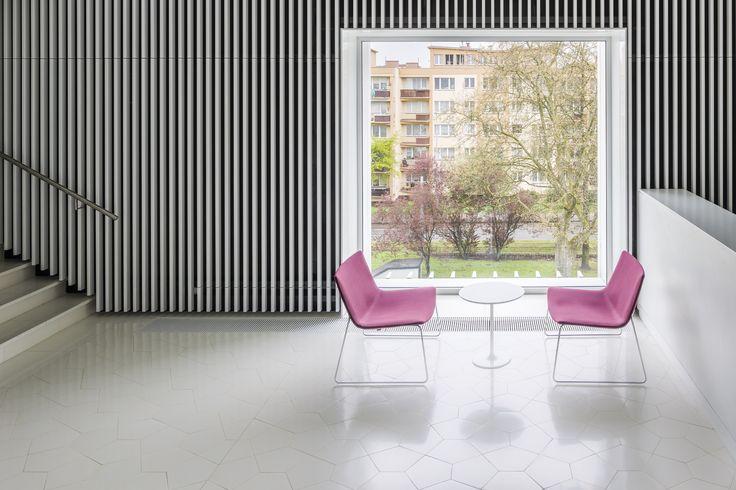 #bespoke Aga #tiles Designed by #BarozziVeiga #cementtiles #baldosas #baldosashidraulicas #rajoles #rajoleshidrauliques #philharmonic #szczecin @eumiesaward #architecture #bathroom #archilovers #washbasin #architecturelovers #instaarchitecture
