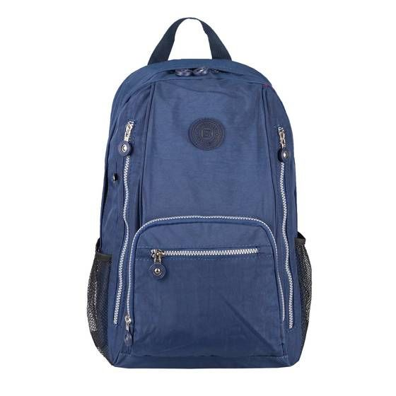 Photo of Women Men Backpack Daypack Backpack City Backpack Shoulder Bag Trekking Crossbody Crossover Bodybag Leisure Backpack Bicycle Sport Nylon Bag Dark Blue 26x40x13 cm