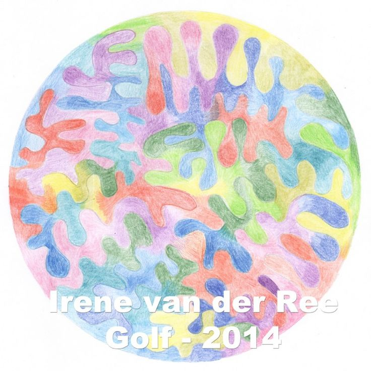 Golf mandala Irene van der Ree