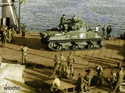 Polish-1st Armoured Division embarcking, pin by Paolo Marzioli