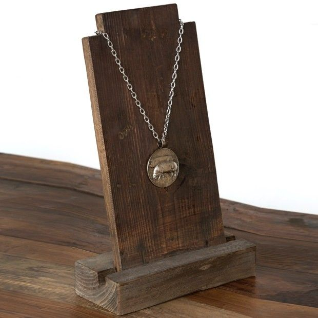 Old Wood Necklace Display                                                                                                                                                                                 More