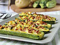 Parmigiana di zucchine e patate: Ricetta più light, semplificata anche dai passaggi fatti in forno si perde il tempo solo durante la cottura.
