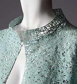 Exhibit: Shifting Paradigms: Fashion + Technology, on view at Kent State University Museum, September 26, 2013 - August 31, 2014.