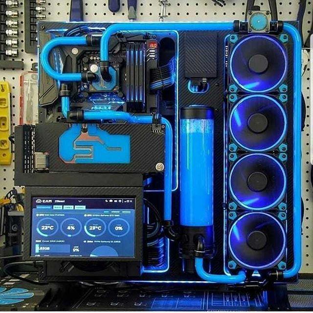Well Made Custom Water Cooling Loops Always Look Incredible