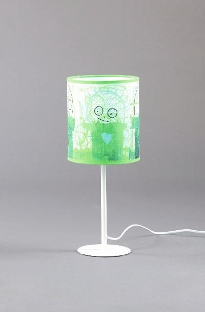Poul Pava Lamp Green.
