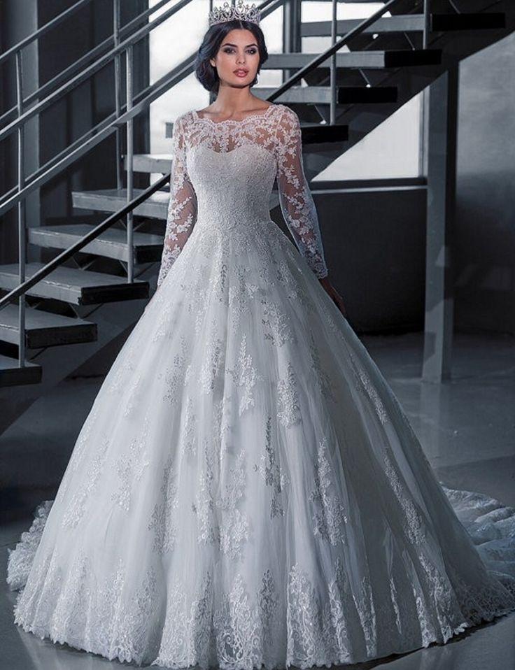 134 best Wedding dresses all kind images on Pinterest | Wedding ...