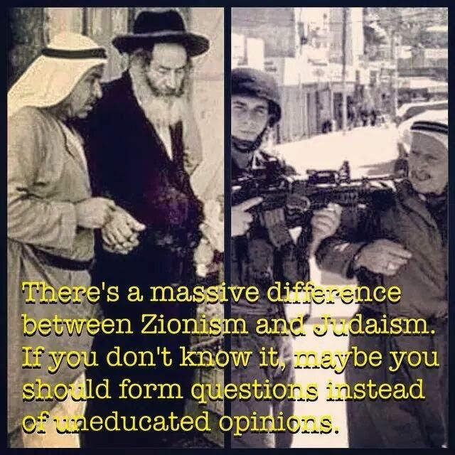 Before the creation of the Jewish State in Palestine (Israel), it was a progressive country where Palestinian Muslims, Palestinian Jews and Palestinian Christians had largely lived in peace, harmony and cooperation for many centuries.