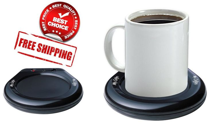 Mr Coffee Mug Warmer Cup Heater Hot Plate Portable Home