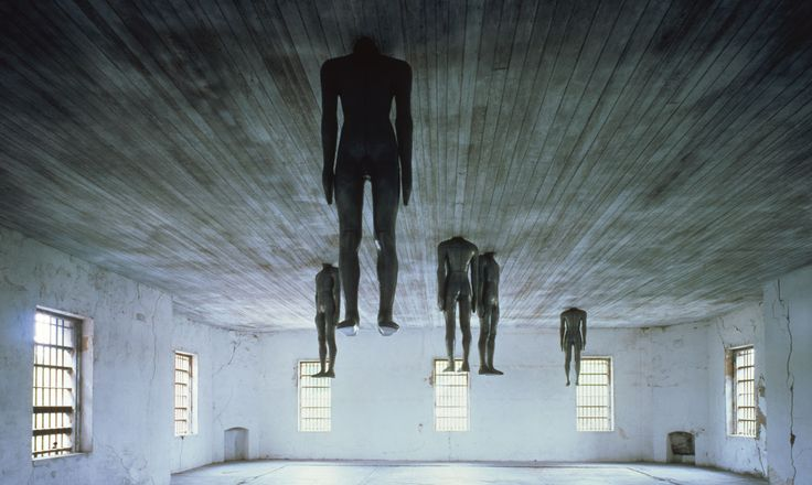 LEARNING TO THINK, 1991 by Antony Gormley