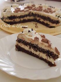 Perle di Sapore: Torta di Compleanno alla Crema di Zabaione e Cioccolato