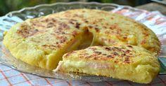 Λαχταριστική πατατοβόμβα στο τηγάνι με αλλαντικά και τυρί