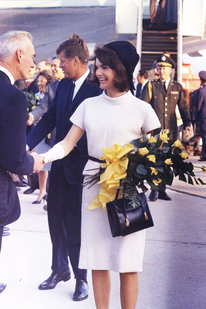 16 Style Lessons to Learn from Jackie Kennedy  - Heighten Color Contrast from InStyle.com