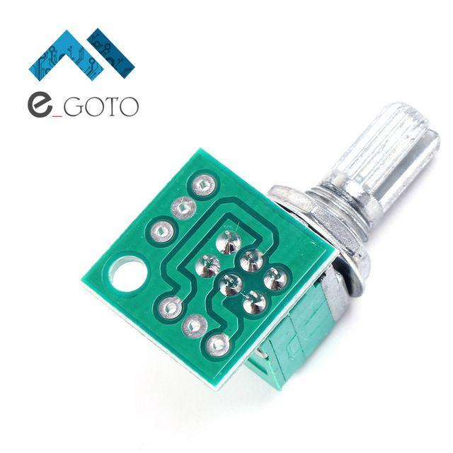 5 шт. 50 k потенциометра аудио аксессуары двойной связи объем регулятор громкости регулировка оборудования 15*15*15 мм