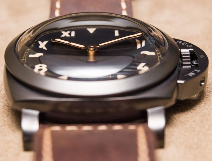 """Panerai Luminor 1950 3 Days Titanio DLC PAM629 'California Dial' Watch Hands-On - by Kenny Yeo - see the hands-on pictures & read more on aBlogtoWatch.com """"Love them or hate them, one thing that you cannot do with Panerai is ignore them. Panerai has once again made waves at Watches & Wonders 2015 with their latest special edition watches. I'm of course referring to the new Panerai Luminor 1950 3 Days Titanio DLC PAM629 'California dial' watch, and also its twisted sister, the PAM617…"""""""