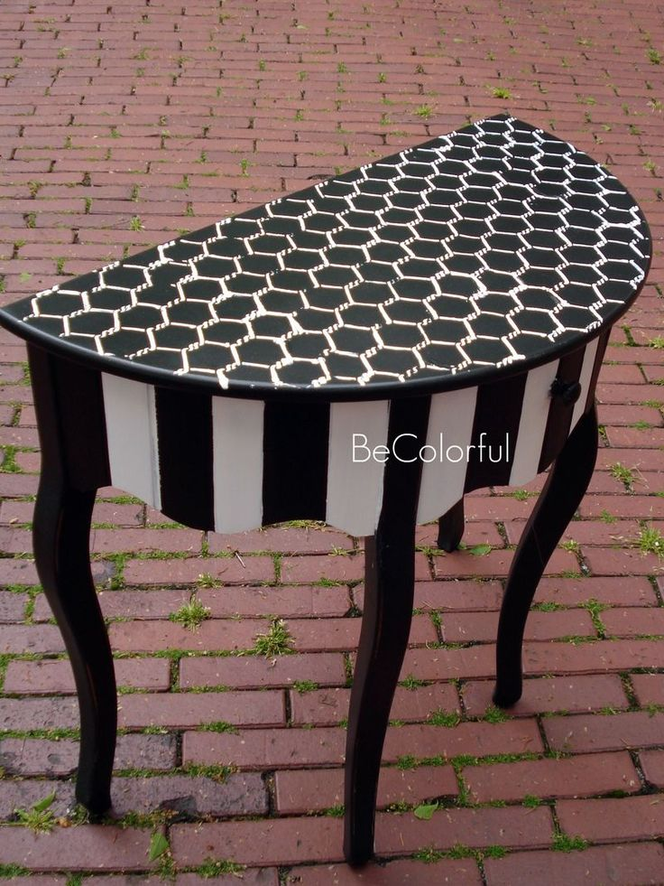 25 Best Ideas About Painted Side Tables On Pinterest