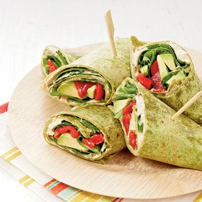 Veggie Ranch Wraps: The perfect vegetarian picnic option