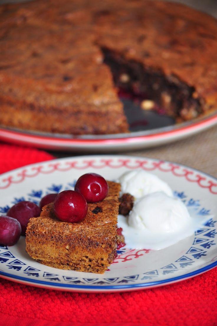 Olivia'nin Visneli Keki / Olivia's Cake | Teaspoon of Cinnamon