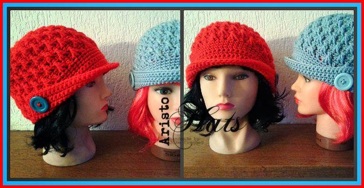 José Crochet: Ice Queen Cap ~ Muts met punten