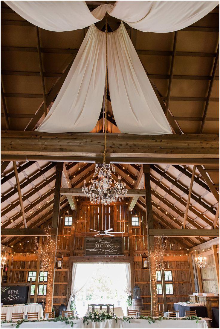 The Barn At Kennedy Farm Indiana Wedding Reception