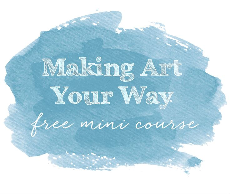 making art your way button