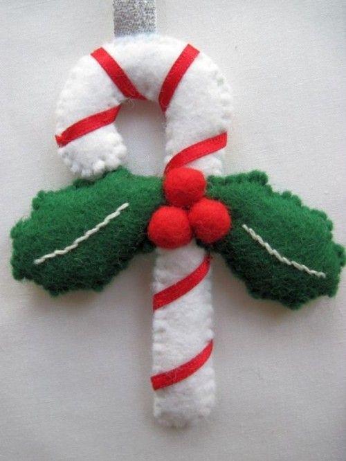Original Felt Ornaments For Your Christmas Tree 22