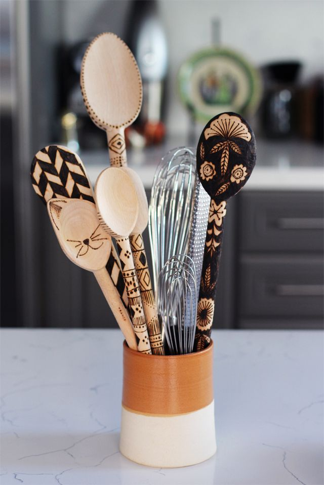 10 best images about room decor diy on pinterest - Cheap wooden spoons for craft ...
