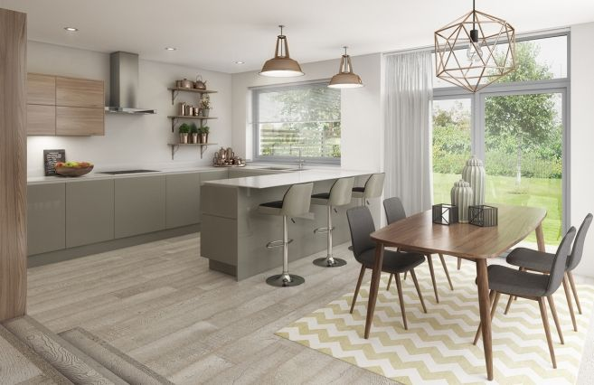 Imagine living in this beautiful open plan kitchen at #TheAcre in Oxford.
