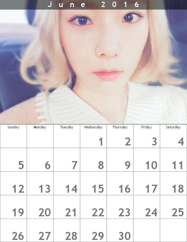 テヨンカレンダー618 x 800 ʕ・ᴥ・ʔღ 1606  http://buff.ly/1WYG6VO #taeyeon #snsd #taeyeoncalendar