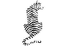 tiger silhouette - Google Search