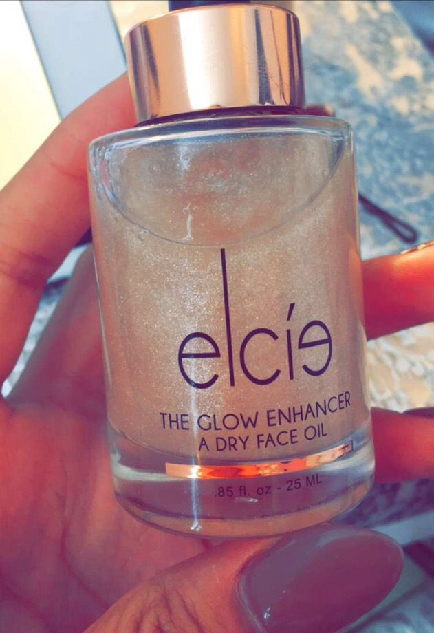 Elcis glow enhancer oil // Desi Perkins snapchat
