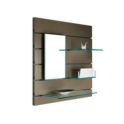 Librerías …con estantes de vidrio de alta calidad en ..