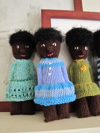 Knitting, Dolls and Charity on Pinterest