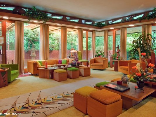 91 best images about frank lloyd wright on pinterest for Interior design lafayette indiana