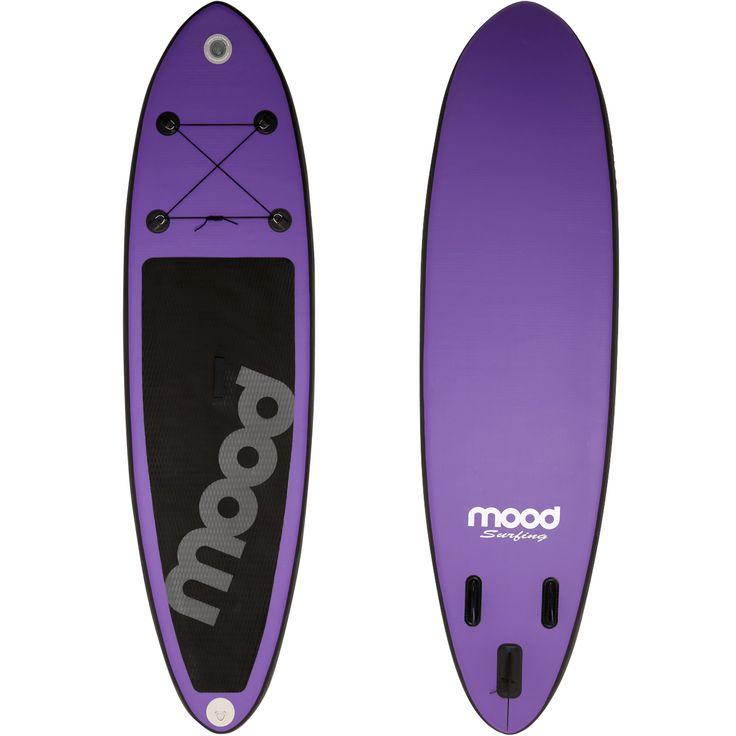 Prancha Stand Up Paddle Mood Inflável Over Sea Line 10 pés Roxo e Preto | Netshoes