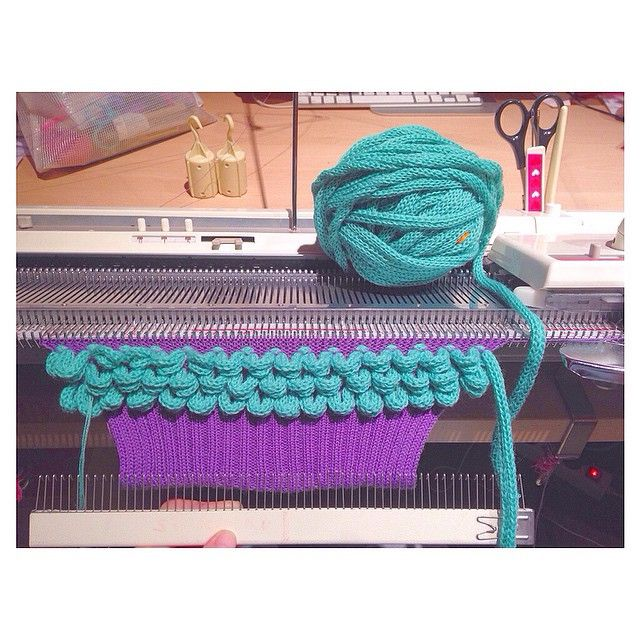 Knitting Machine Tutorial : Best images about knitting machine simple on