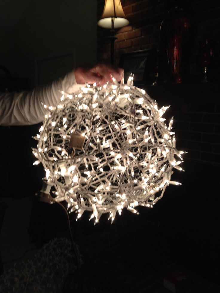 Giant Lighted Christmas Balls How To Hang Them On A Tree