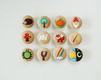 Construire une histoire de champignons Set - Set de jeu - Woodland histoire créative - jouet éducatif